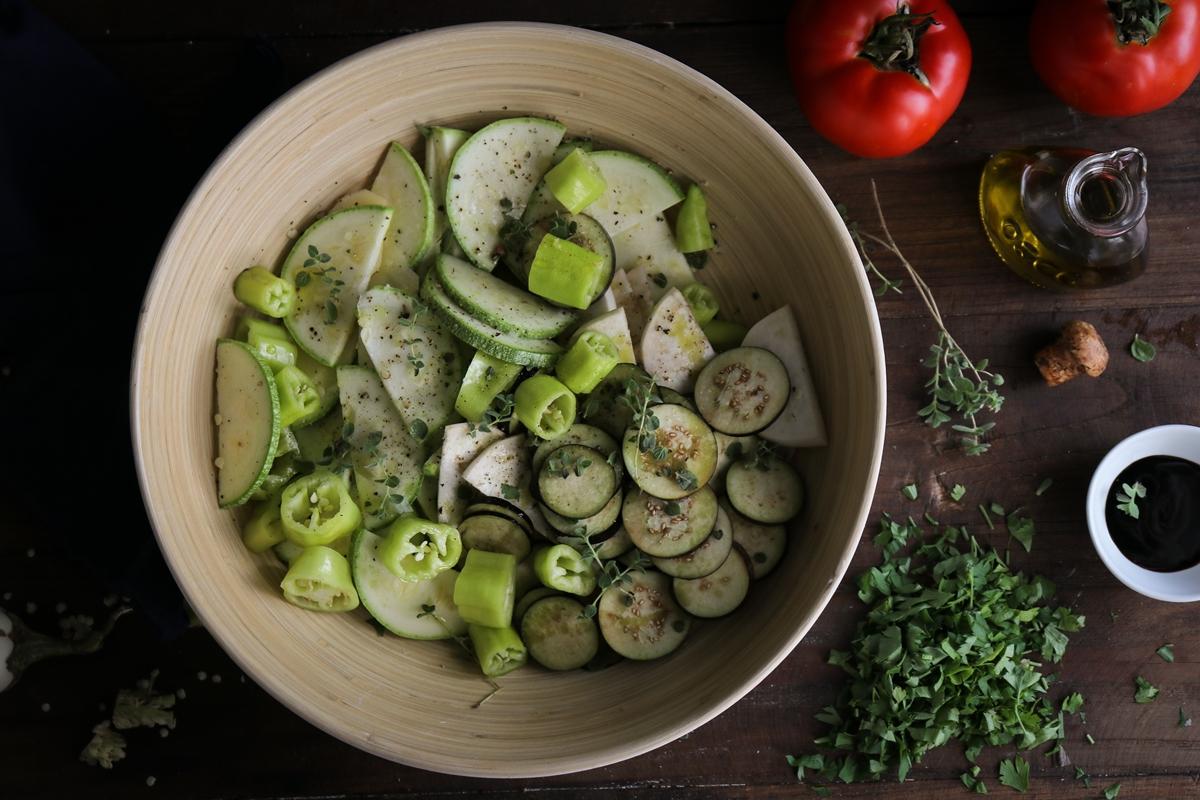 Συνταγή για Μπριάμ Λαχανικά