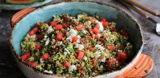 Σαλάτα Ταμπουλέ με Καρπούζι και Φέτα