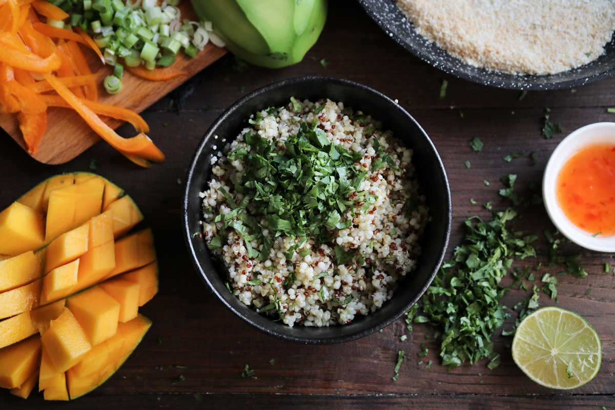 Mango - Quinoa Recipes Tipiak
