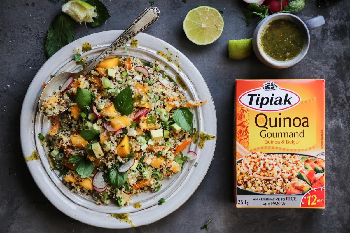 Quinoa-Mango Salad Συνταγή