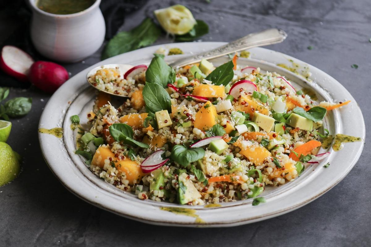 Vegan Σαλάτα με Κινόα Συνταγή