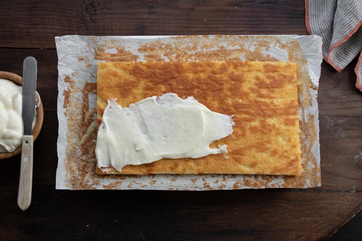 Κέικ με Ζεστό Γάλα (Γαλακτοκέικ)