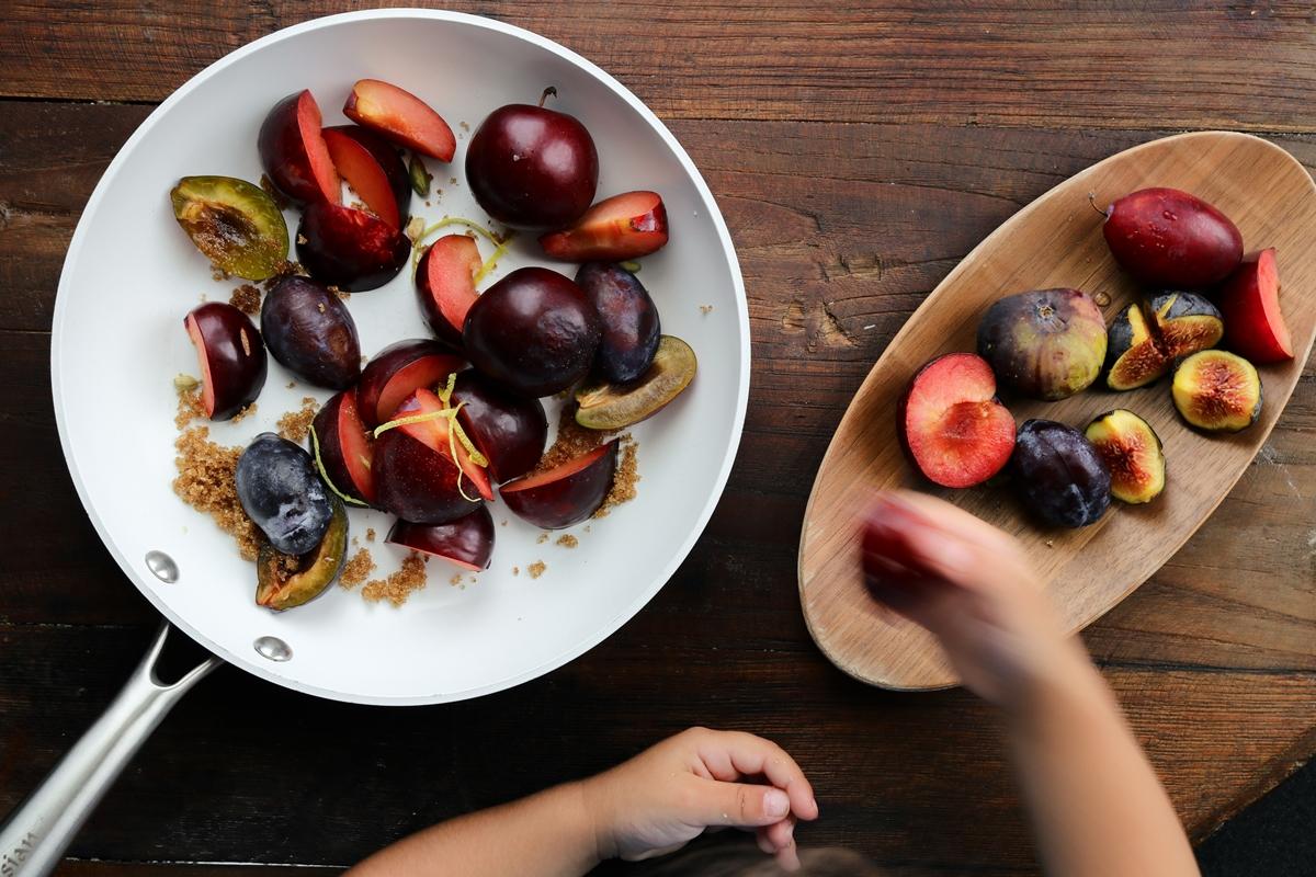 Συνταγή για Καραμελωμένα Φρούτα