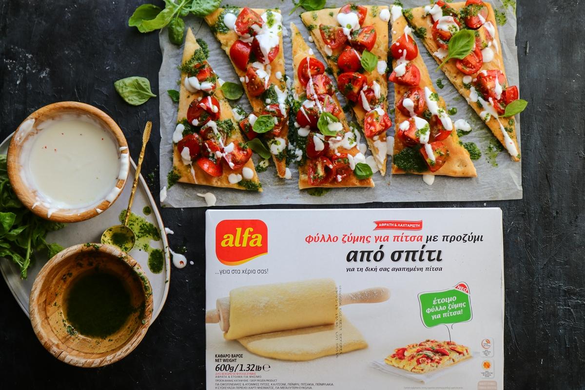 Συνταγή για Φοκάτσια Πίτσα Alfa