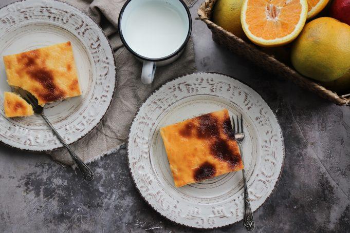 Γαλατόπιτα με Πορτοκάλι