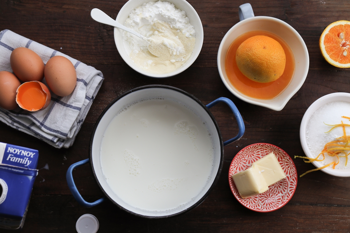 Η καλύτερη Συνταγή για Γαλατόπιτα με Πορτοκάλι