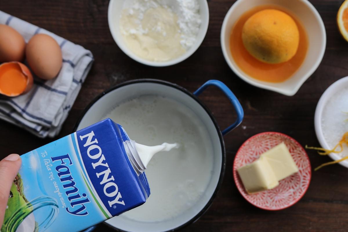 Πορτοκάλι Συνταγές με Γάλα ΝΟΥΝΟΥ