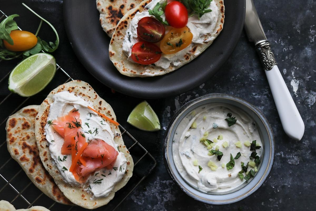 Σολομός-Ντοματίνια -Γιαούρτι Συνταγές
