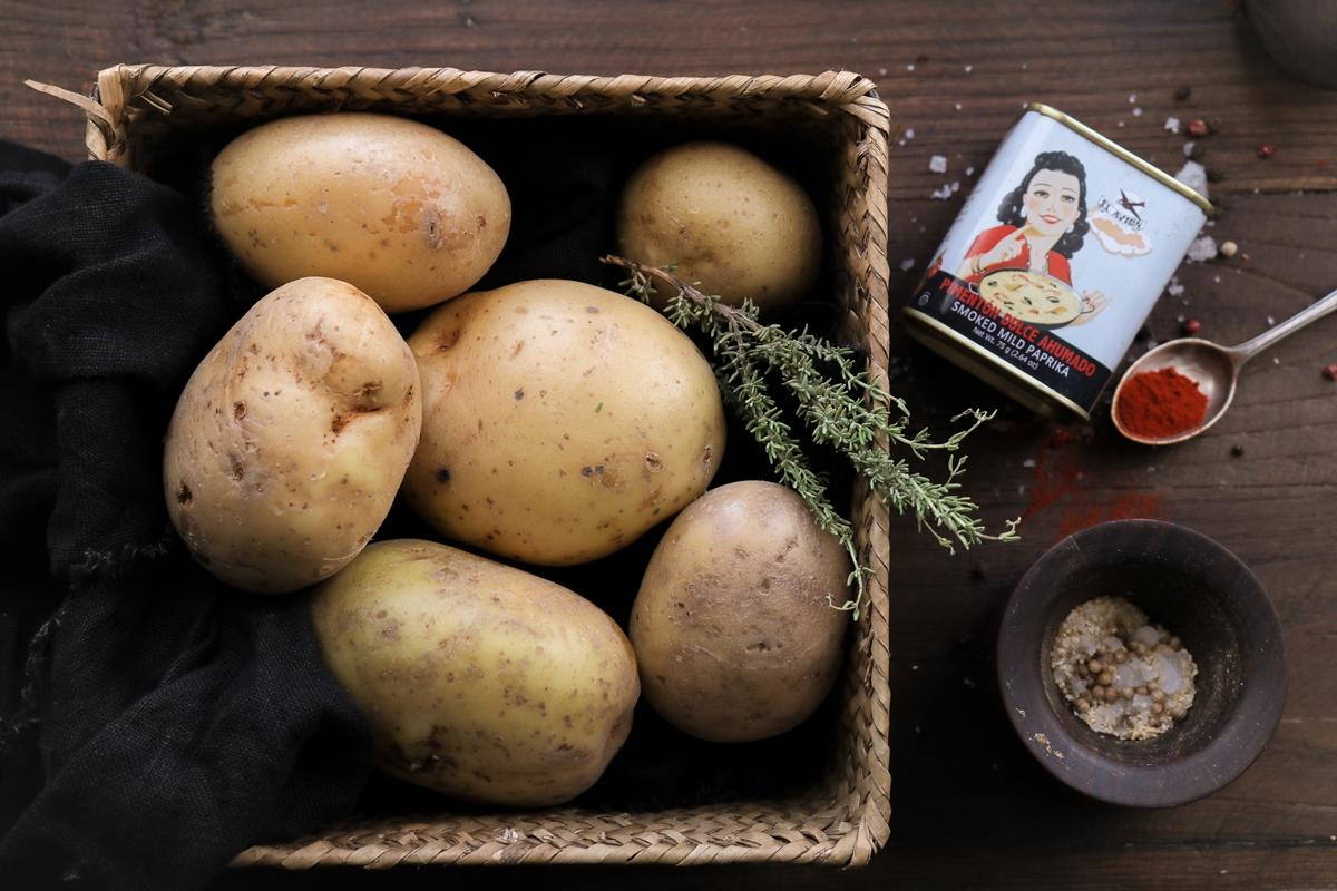 Συνταγή για Πατάτες στο Φούρνο