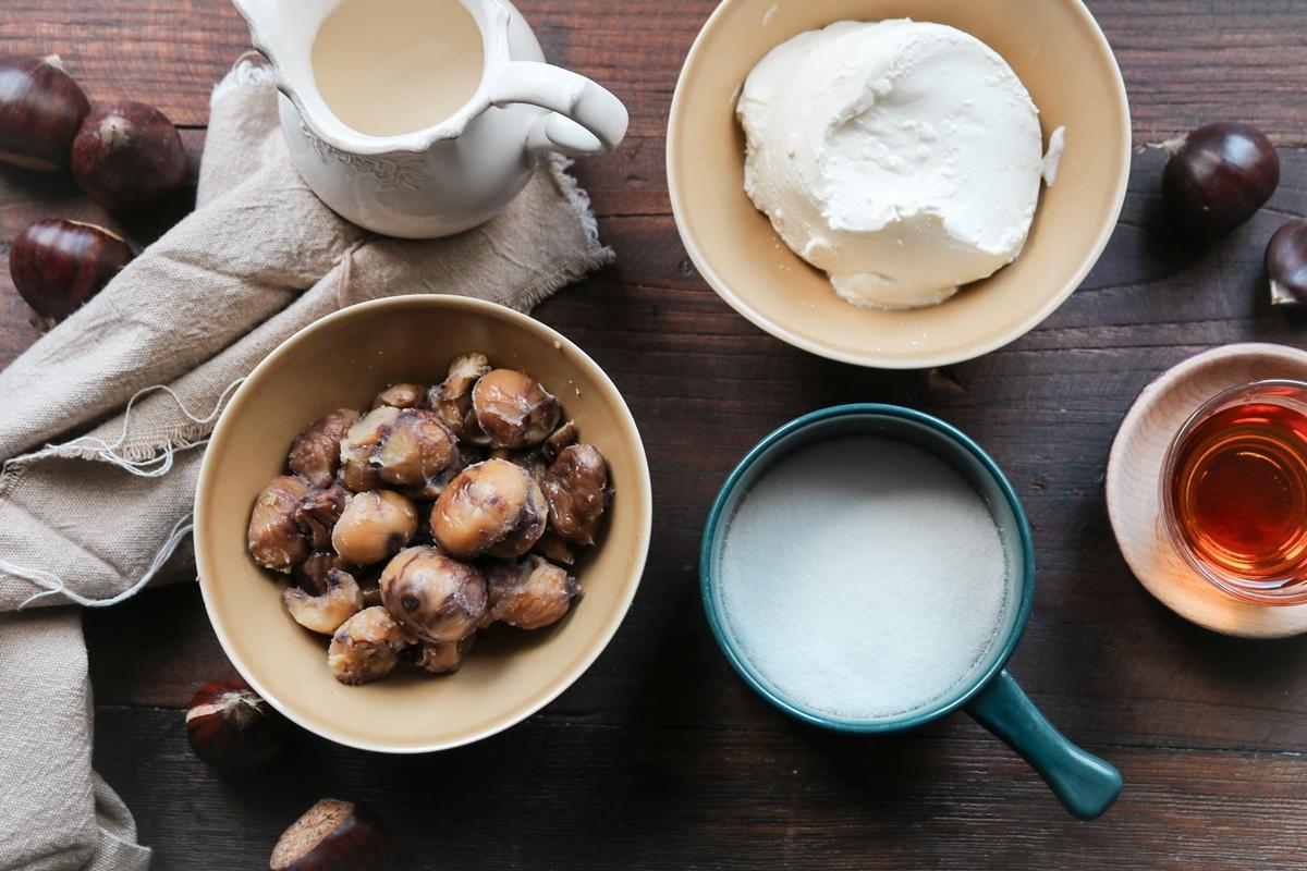 Γλυκά με Κάστανα Συνταγές