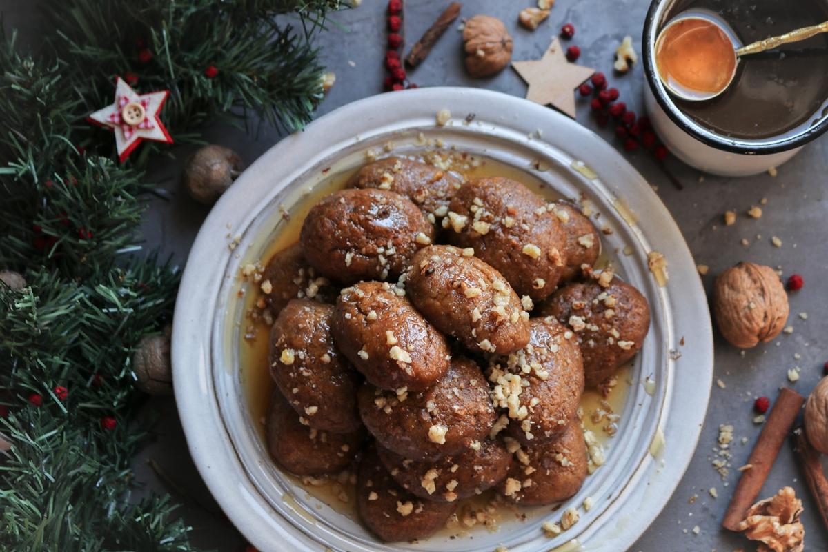 Παραδοσιακά Μελομακάρονα Συνταγή