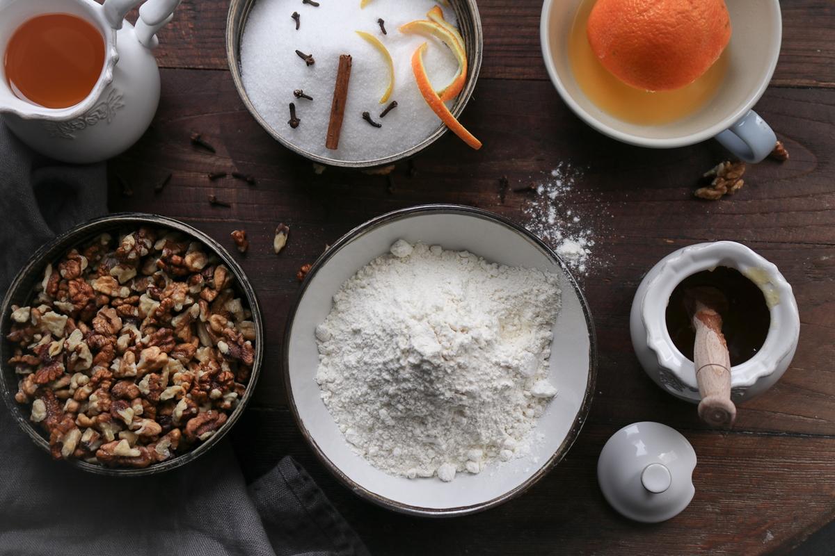 Συνταγές για Μελομακάρονα