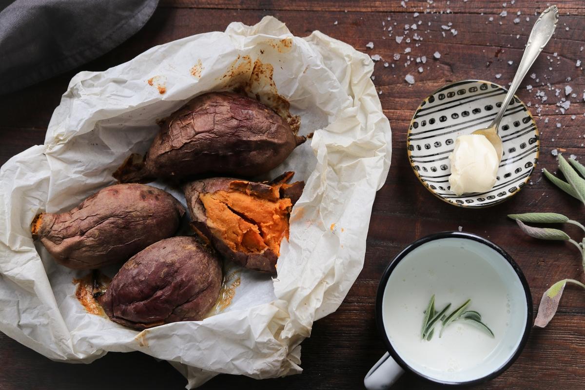 Συνταγές για Πουρέ Γλυκοπατάτας