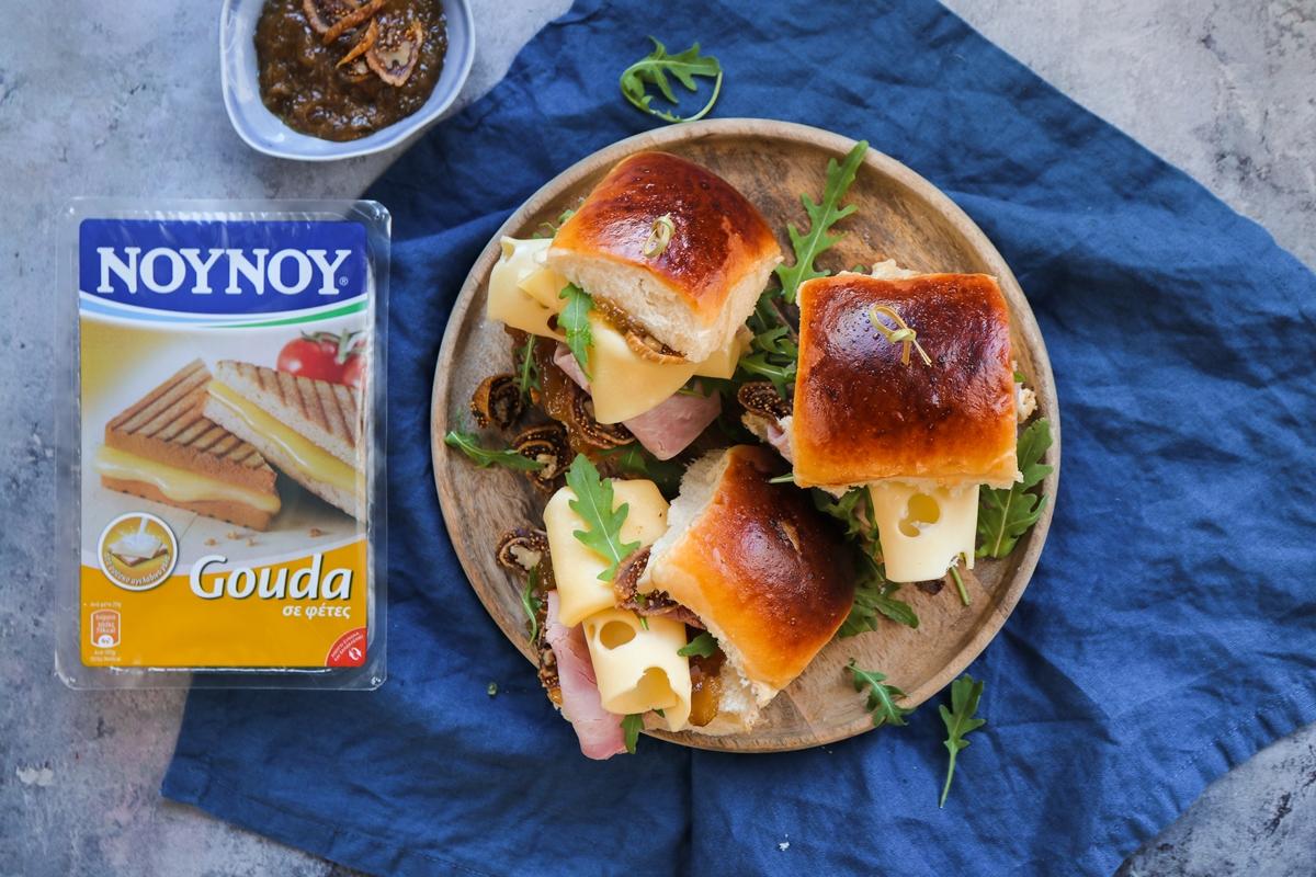 Συνταγές για Σάντουιτς με Gouda