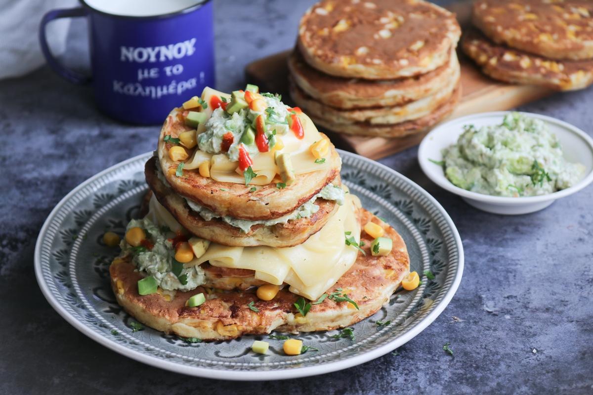 Συνταγές για Pancakes Αλμυρά