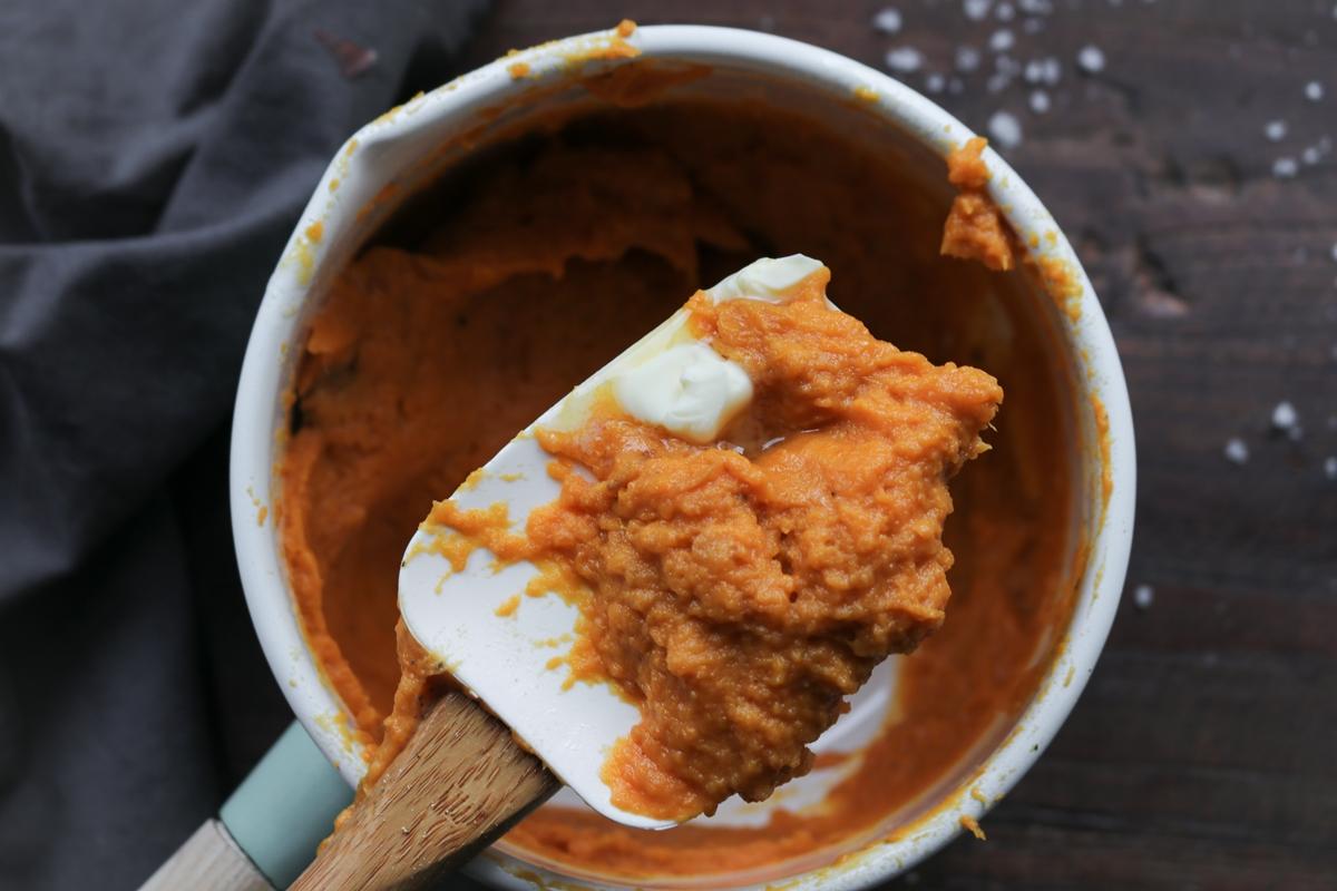 Συνταγή για Πουρέ Γλυκοπατάτας