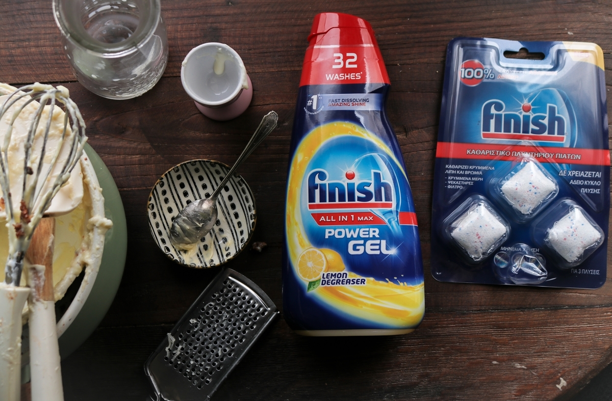 Finish Power Gels and Food