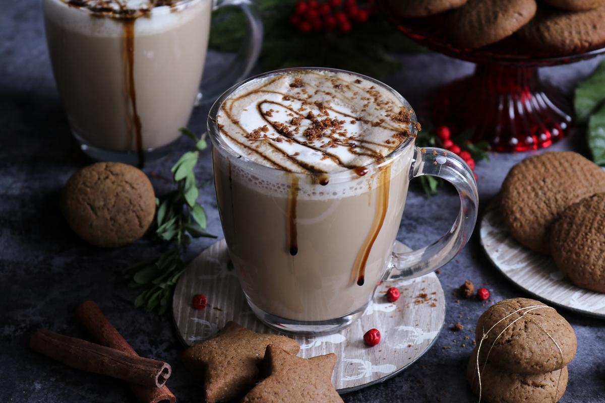 Gingerbread, Latte και Μπισκότα