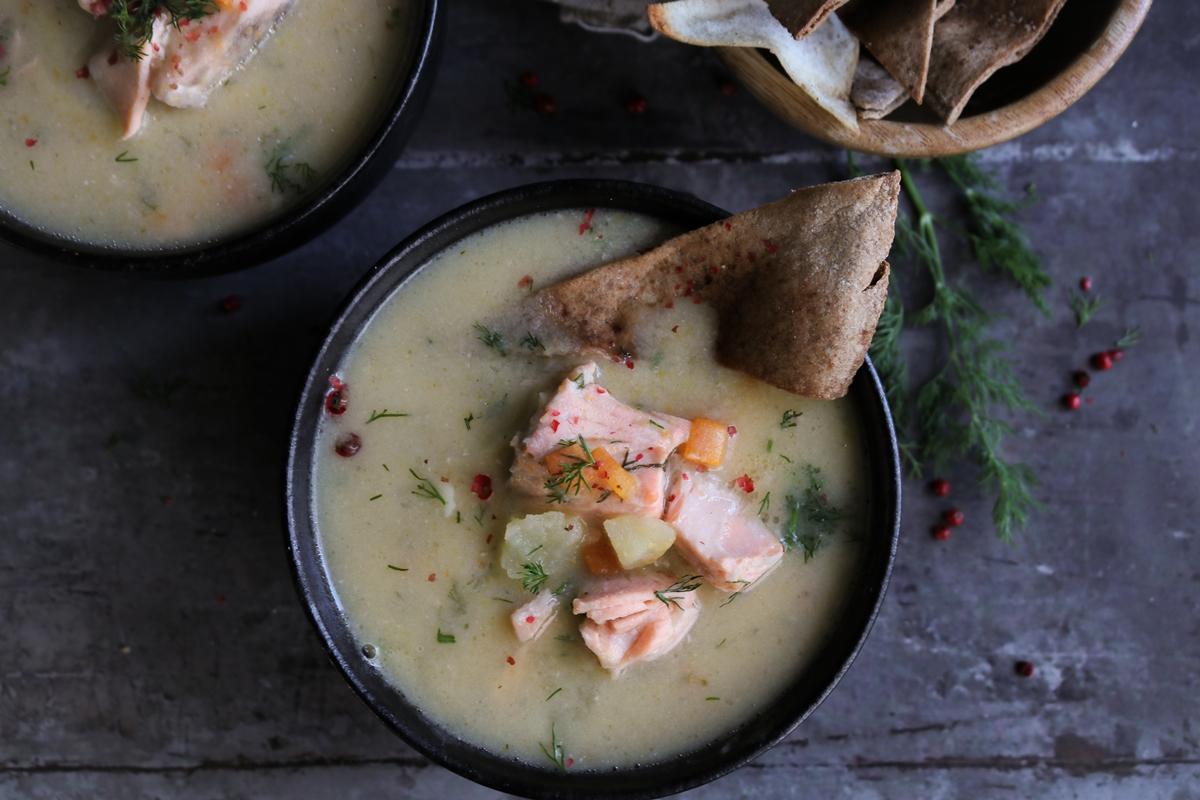 Lohikeitto Salmon Soup