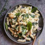Healthy Pasta Recipes Lemon, Mascarpone, Greens