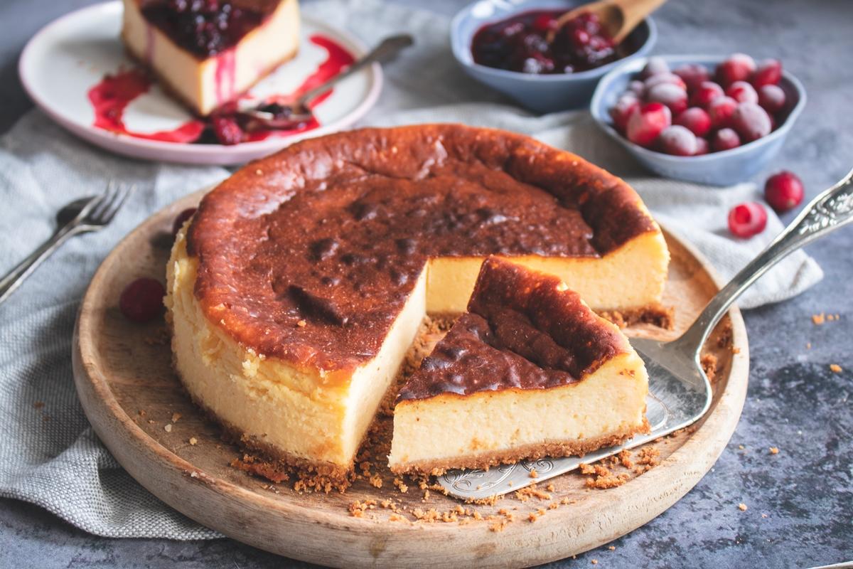 ΝΥ Cheesecake Φούρνου Συνταγές