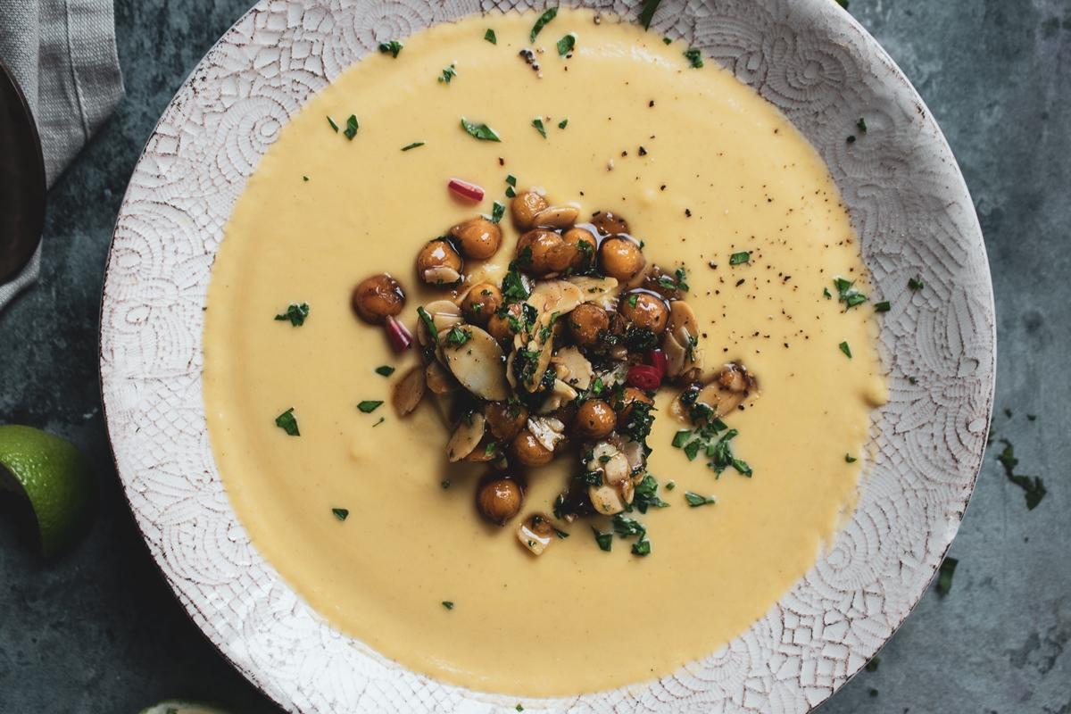 Σούπα Βελουτέ με Κουνουπίδι Συνταγή