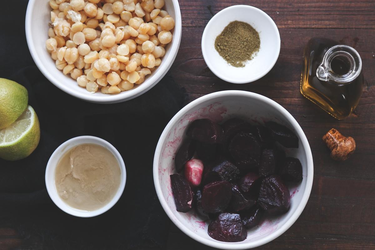 Συνταγές Χούμους με Παντζάρι