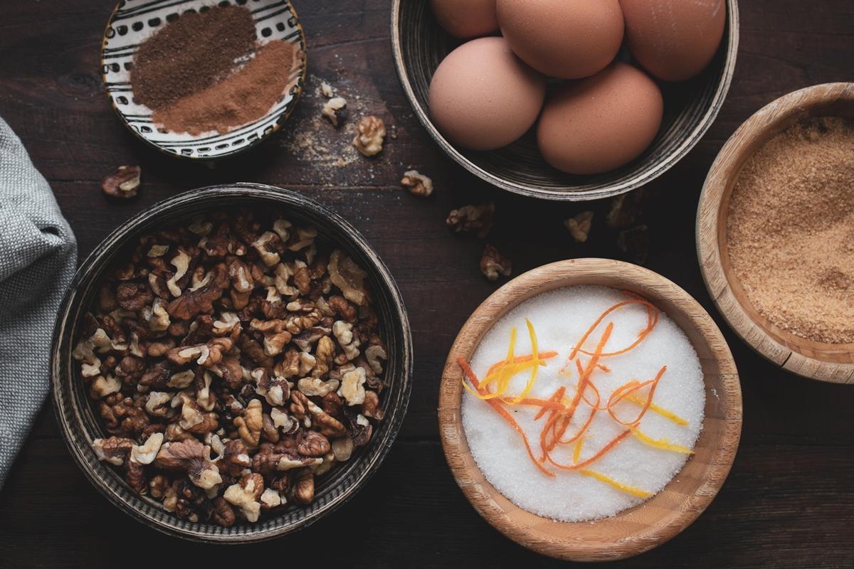 Καρυδόπιτα Σιροπιαστή Συνταγή