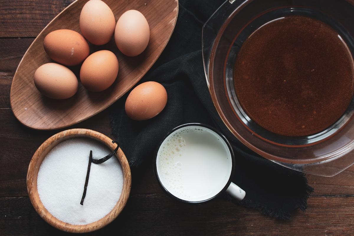 Συνταγή για Κρέμα Καραμελέ με Αυγά