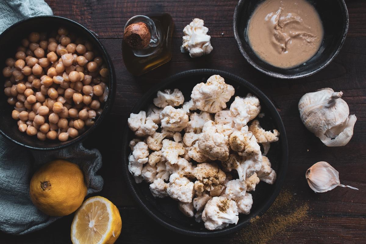 Υλικά για Συνταγή Χούμους
