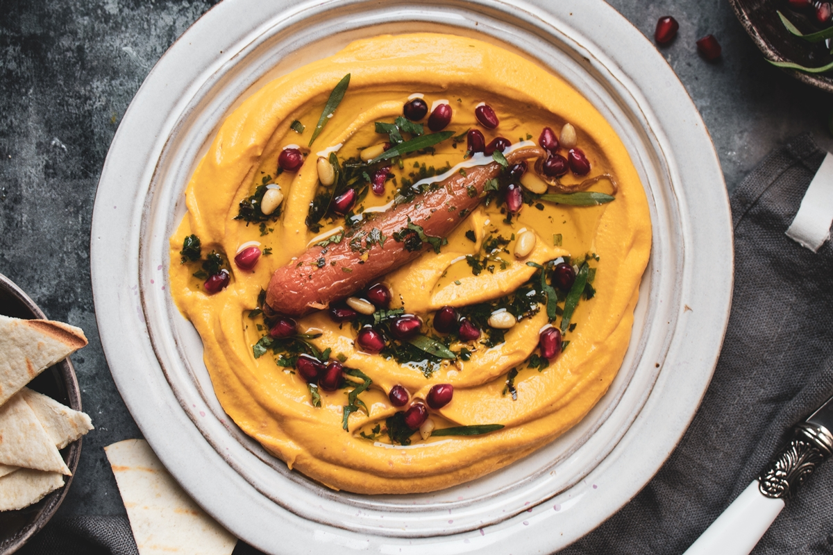 Carrot Hummus Recipe