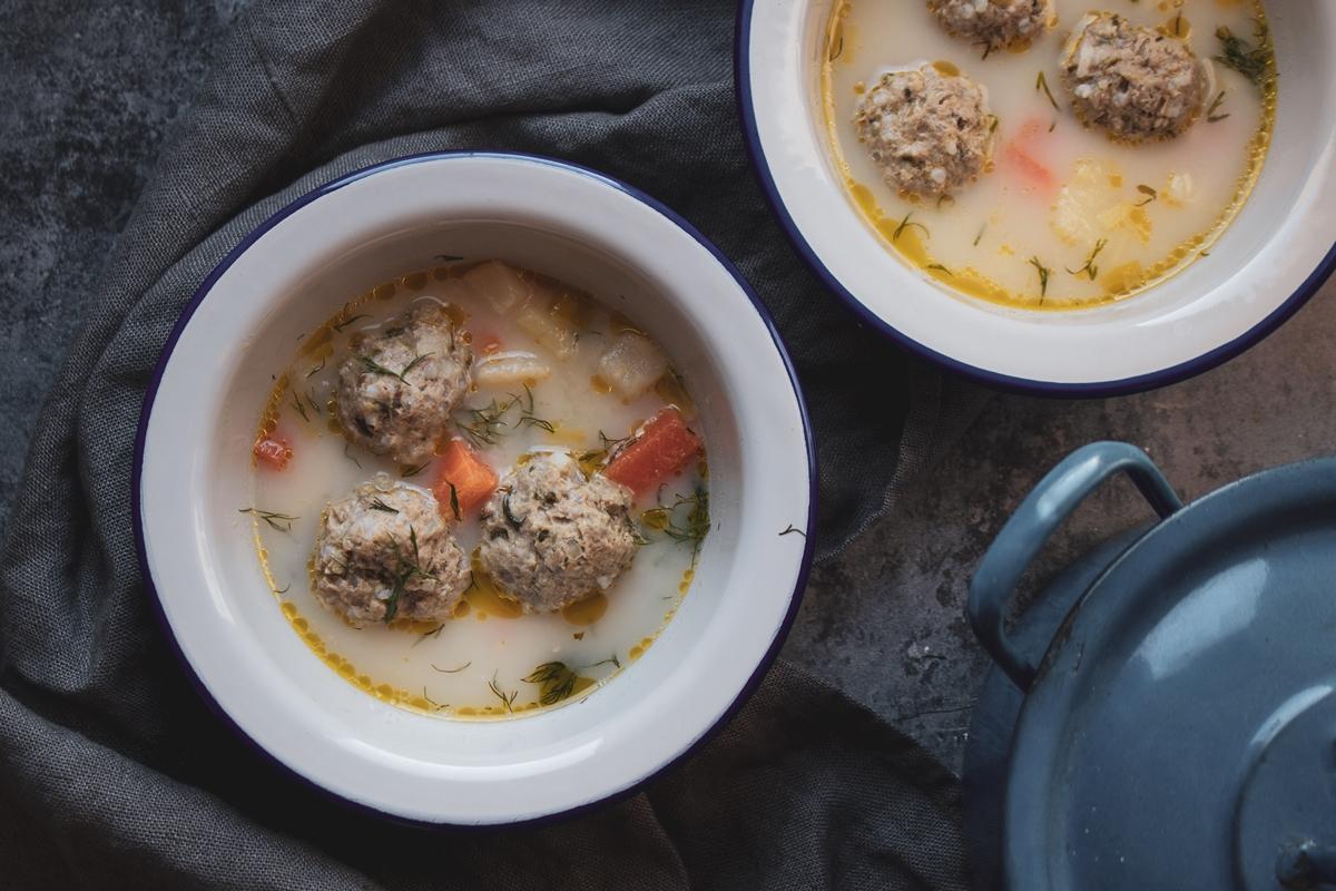 Greek Recipes Yiouvarlakia