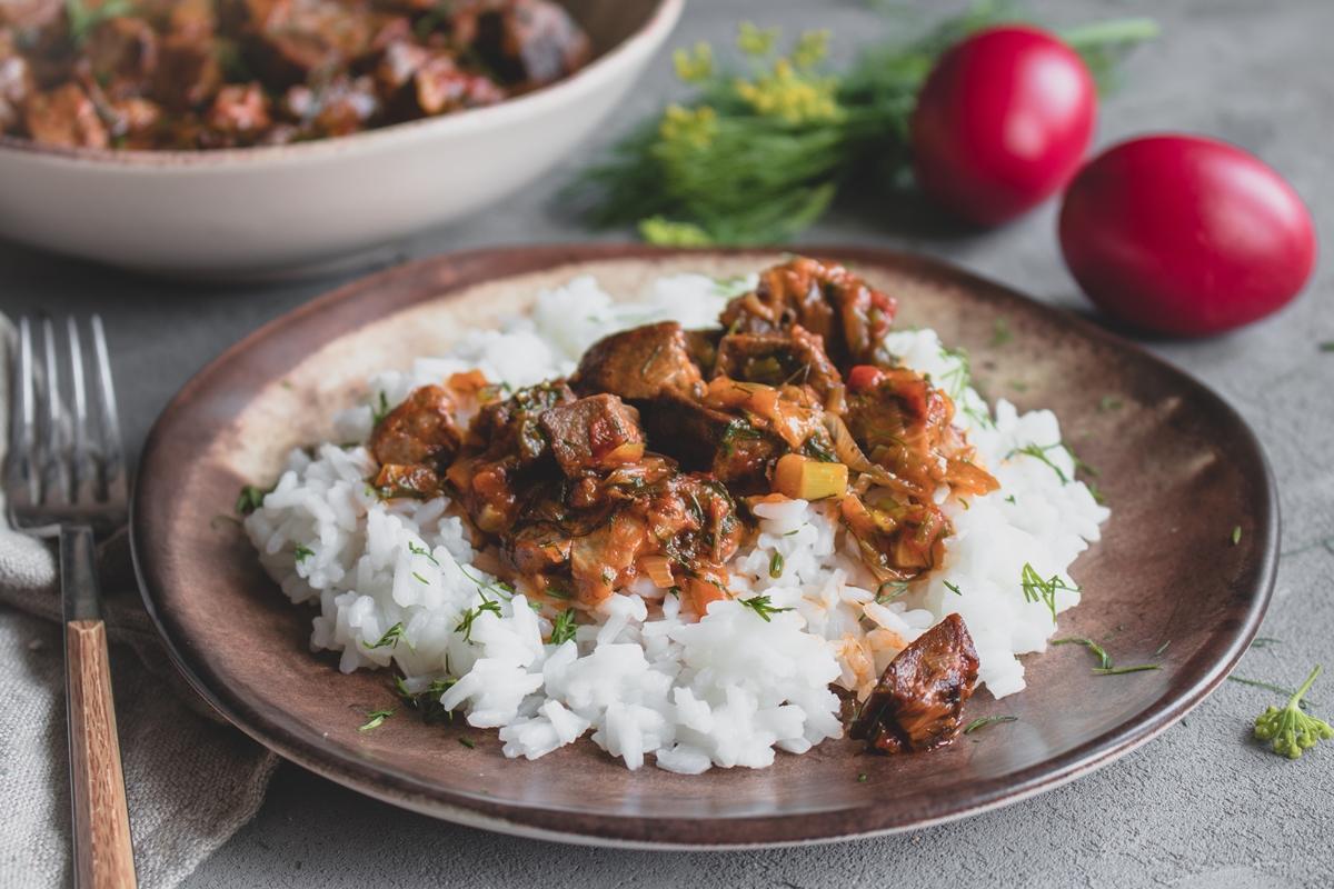Πασχαλινές Συνταγές Μαγειρίτσα