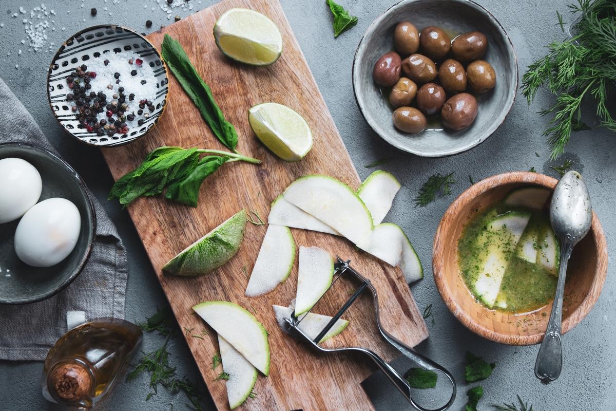 Συνταγές με Κολοκυθάκια Σαλάτα