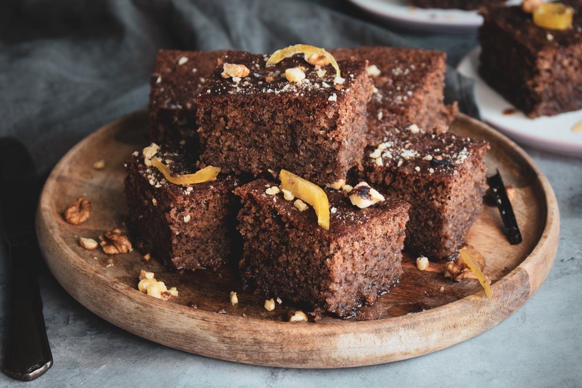 Walnut Cake_Karydopita Recipe