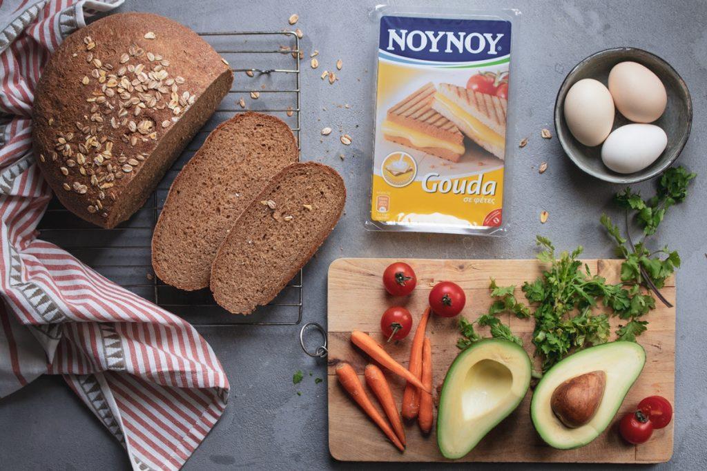 Open Toast Gouda NOYNOY and Avocado