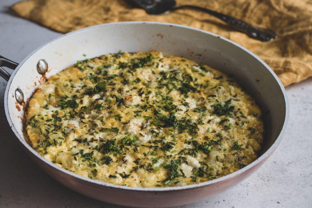 Ομελέτα με κολοκυθάκια και πατάτες