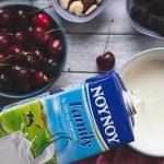 Συνταγές με κεράσια και γάλα ΝΟΥΝΟΥ
