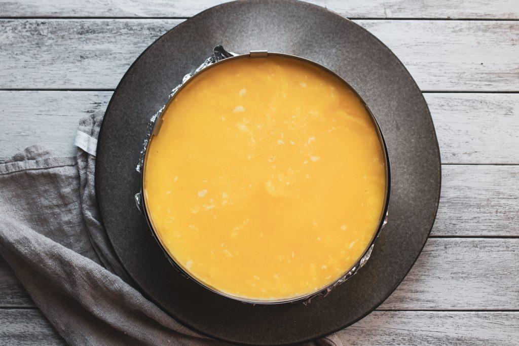 Συνταγές για τσιζ κέικ λεμόνιλευκή σοκολάτα-Lemon curd cheesecake