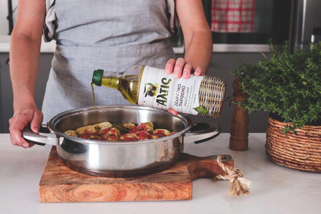 Συνταγές για γεμιστούς κολοκυθοανθούς