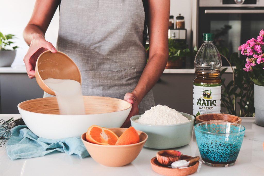 Φανουρόπιτα συνταγή με ελαιόλαδο ΑΛΤΙΣ