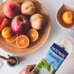 Συνταγές για smoothie με ροδάκινα και μήλα