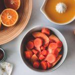 Smoothie με πορτοκάλι, καρότα και μήλα