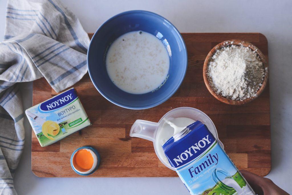 Συνταγές με γάλα και βούτυρο