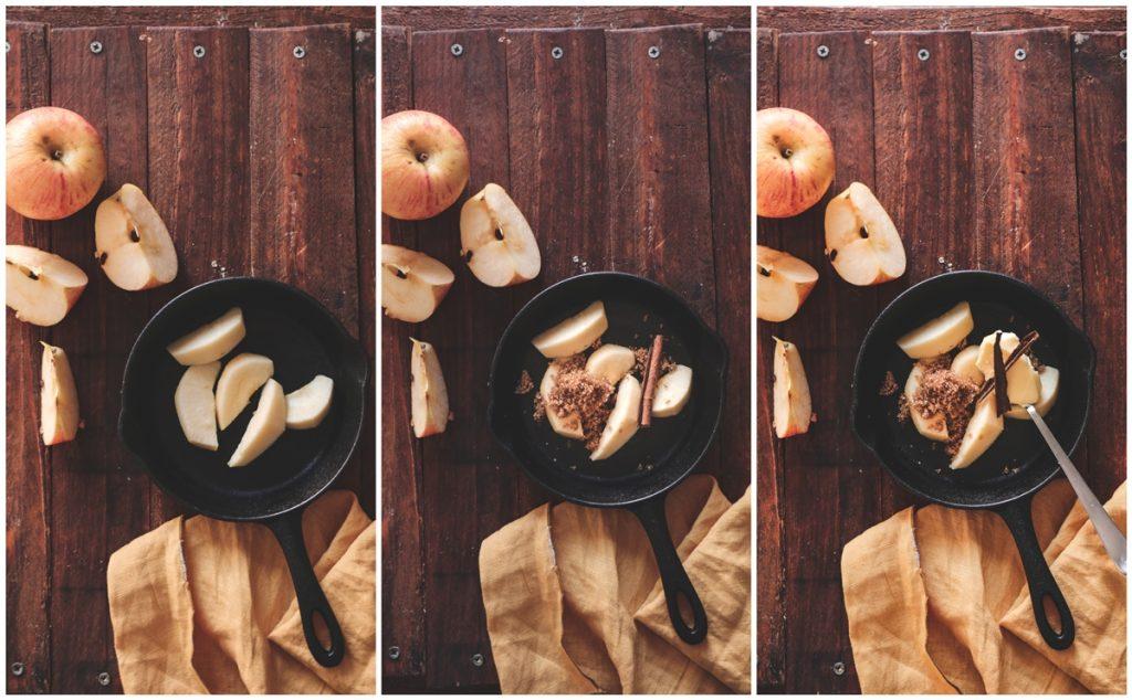 Καραμελωμένα μήλα συνταγή βήμα-βήμα