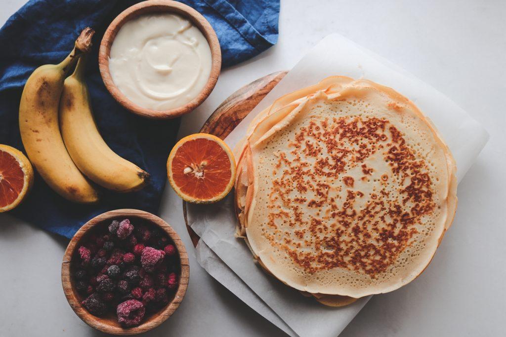 Κρέπες συνταγές με φρούτα