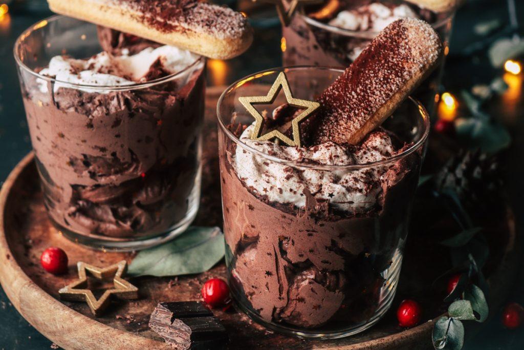 Μους με σοκολάτα και εσπρέσο