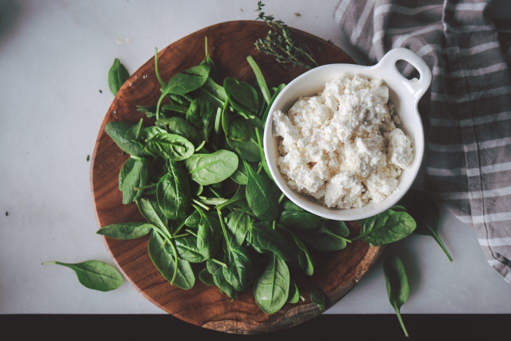 Συνταγές με σπανάκι και ρικότα