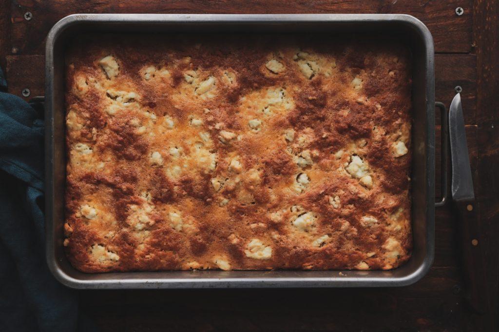Εύκολο τυρόψωμο συνταγή
