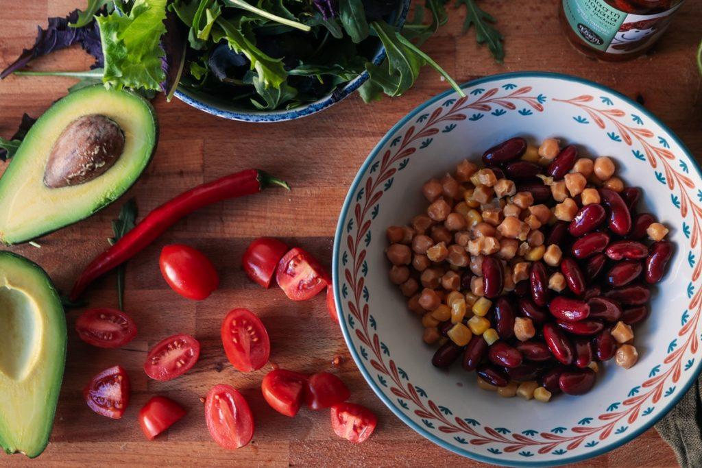 Συνταγές με κόκκινα φασόλια και καλαμπόκι